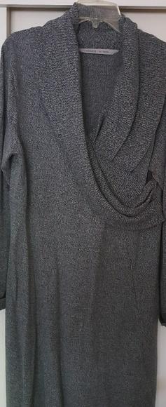 Athleta Dresses & Skirts - Athleta XL surplice wrap sweater dress